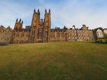Nieuwe Universiteit in Edinburgh stock foto's