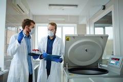 Nieuwe vaccinsteekproeven stock foto's