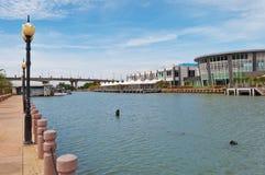 Nieuwe veerbootterminal in Malacca Royalty-vrije Stock Foto's