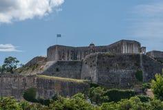 Nieuwe Vesting van Korfu op heuvel van St Teken royalty-vrije stock afbeeldingen