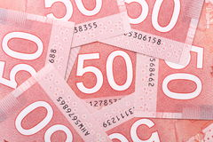 Nieuwe vijftig dollarrekening Royalty-vrije Stock Fotografie