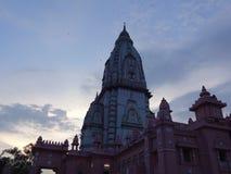 Nieuwe Vishwanath-Tempel stock afbeelding