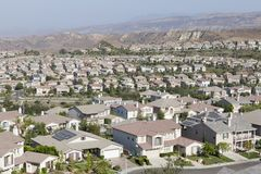 Nieuwe Voorstad Simi Valley California Royalty-vrije Stock Afbeeldingen