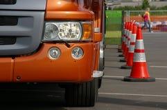 Nieuwe Vrachtwagen Stock Foto