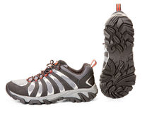 Nieuwe wandelingsschoenen Royalty-vrije Stock Foto