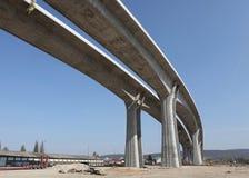 Nieuwe wegbrug Stock Afbeelding