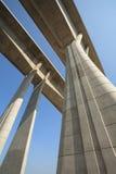 Nieuwe wegbrug Stock Afbeeldingen
