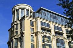Nieuwe woon complexe Vier zonnen Moskou, Rusland Stock Afbeeldingen
