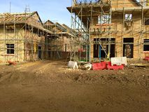 Nieuwe woonwijk Consett Durham Engeland Stock Foto's