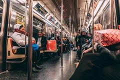 Nieuwe Yorke-Metro straatfoto royalty-vrije stock foto
