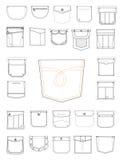 Nieuwe zakken voor kleren vector illustratie