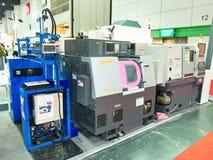 Nieuwe zware machine in Metalex 2014, de trots van ASEAN, Thailand Stock Foto's