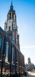 Nieuwekerk na louça de Delft Fotografia de Stock
