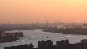 Nieuwemaas Rivier Industrieel Rotterdam