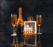 2018 nieuwjaar Stock Fotografie