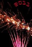 Nieuwjaar Royalty-vrije Stock Afbeeldingen