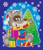 Nieuwjaar 16 royalty-vrije illustratie