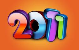 Nieuwjaar Stock Afbeelding