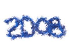 Nieuwjaar 2008 Stock Foto