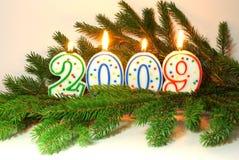 Nieuwjaar 2009 Stock Foto
