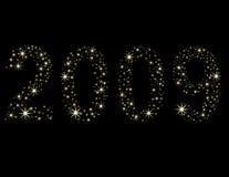 Nieuwjaar 2009 Stock Fotografie
