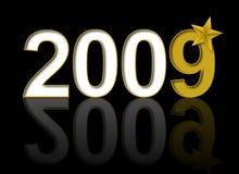 Nieuwjaar 2009 Royalty-vrije Stock Afbeelding