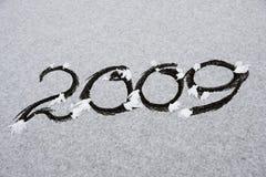 Nieuwjaar 2009 Stock Foto's