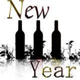 Nieuwjaar 2010 Stock Afbeeldingen