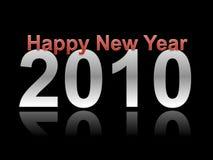 Nieuwjaar 2010 Stock Foto
