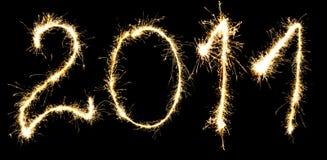 Nieuwjaar 2011 Stock Afbeelding