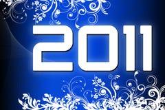 Nieuwjaar 2011 Stock Foto's