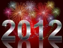 Nieuwjaar 2012 Stock Fotografie