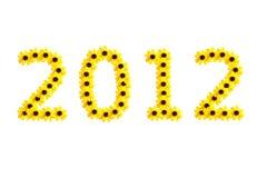 Nieuwjaar 2012 Stock Foto's