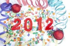 Nieuwjaar 2012 Royalty-vrije Stock Afbeeldingen