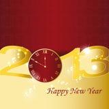 Nieuwjaar 2013 Stock Foto