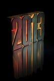 Nieuwjaar 2013 Stock Afbeeldingen