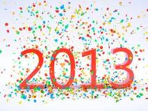 Nieuwjaar 2013 Stock Fotografie