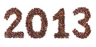 Nieuwjaar 2013 Royalty-vrije Stock Afbeeldingen