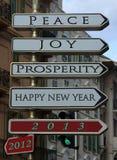 Nieuwjaar 2013 Royalty-vrije Stock Afbeelding