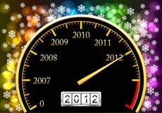 Nieuwjaar. Stock Afbeeldingen