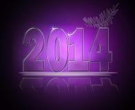 Nieuwjaar 2014 Stock Afbeeldingen