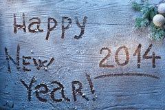 Nieuwjaar 2014. Royalty-vrije Stock Foto's
