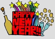 Nieuwjaar Royalty-vrije Stock Afbeelding