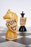 2014 nieuwjaar Stock Afbeeldingen