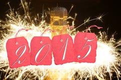 Nieuwjaar 2015 Royalty-vrije Stock Afbeelding
