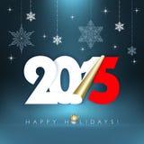 2015 nieuwjaar Royalty-vrije Illustratie