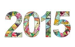2015 nieuwjaar Stock Afbeelding