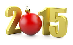 2015 nieuwjaar Stock Fotografie