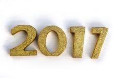 2017 nieuwjaar Stock Afbeelding