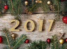 2017 nieuwjaar Stock Foto's